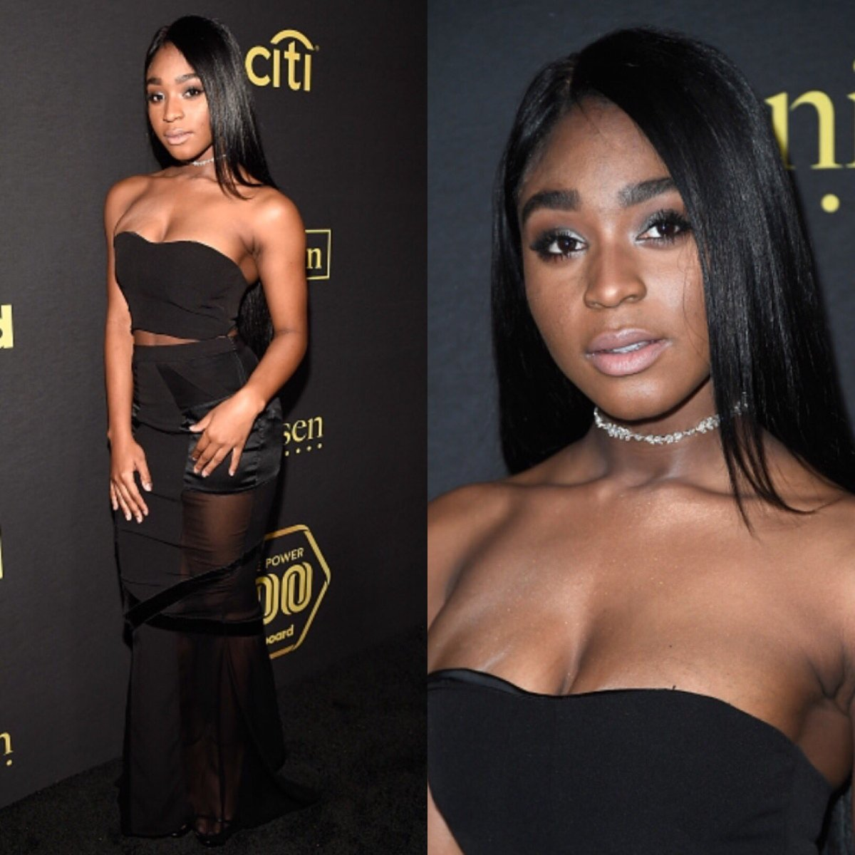 Normani Kordei Of Fifth Harmony Arrives to Billboards Power 100 Party
