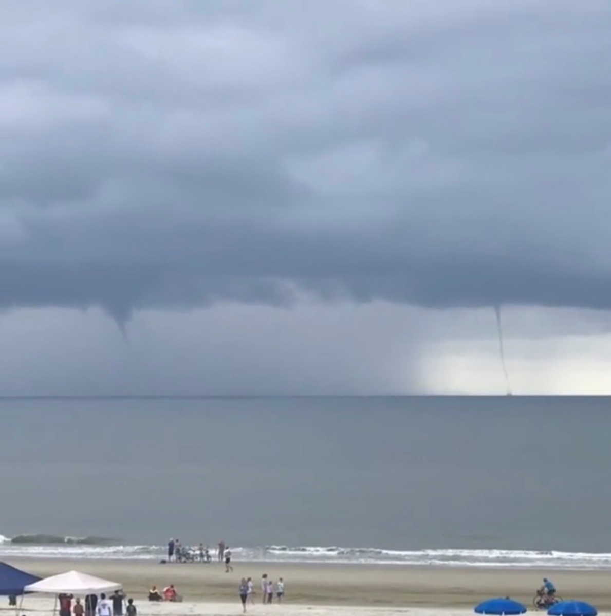 Water Spouts On Hilton Head Island