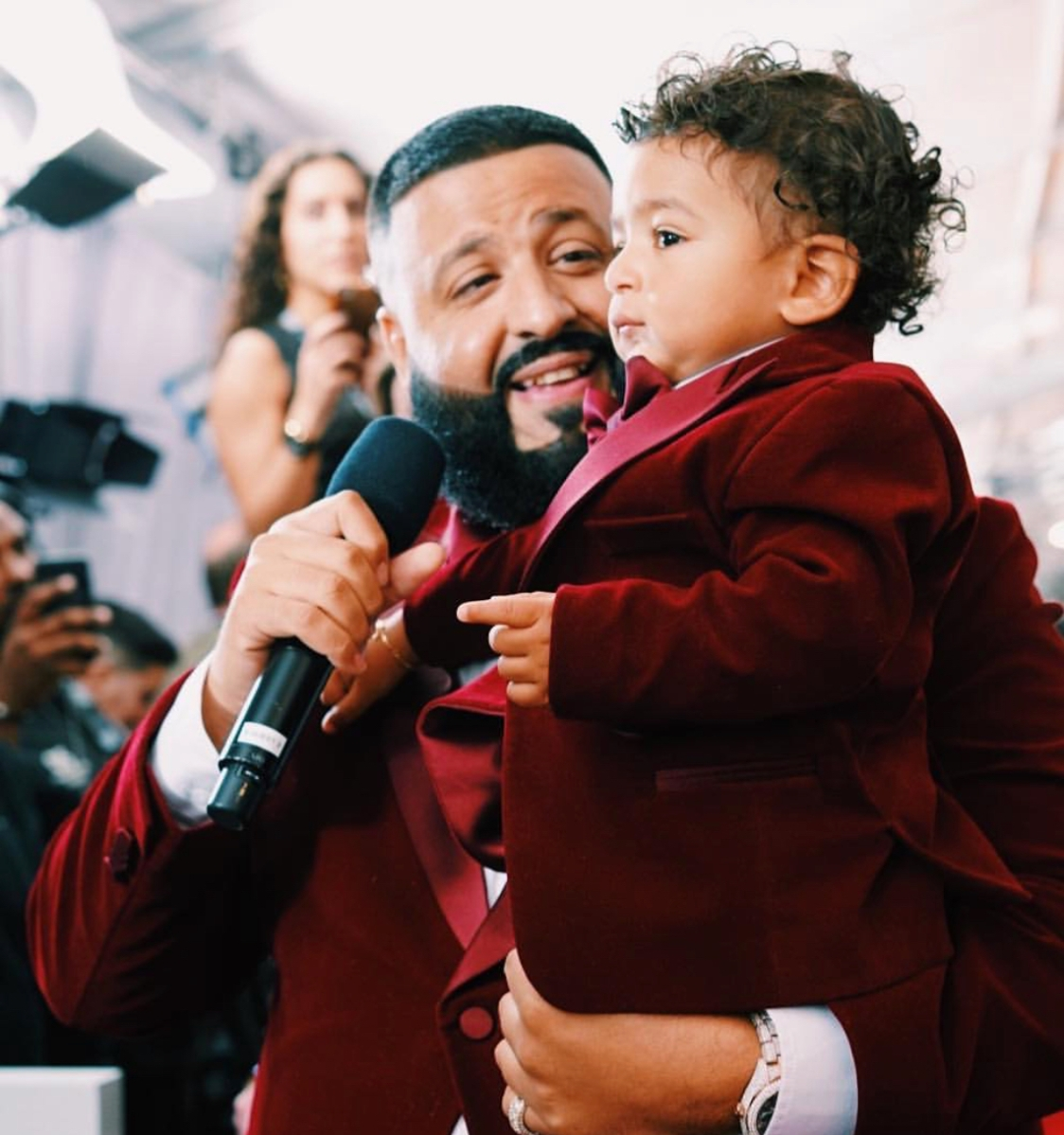 The Fabulous Life of Asahd, DJ Khaled's Toddler Son Who Wears a $100,000 Watch and Produced His First Album at 4 Months Old