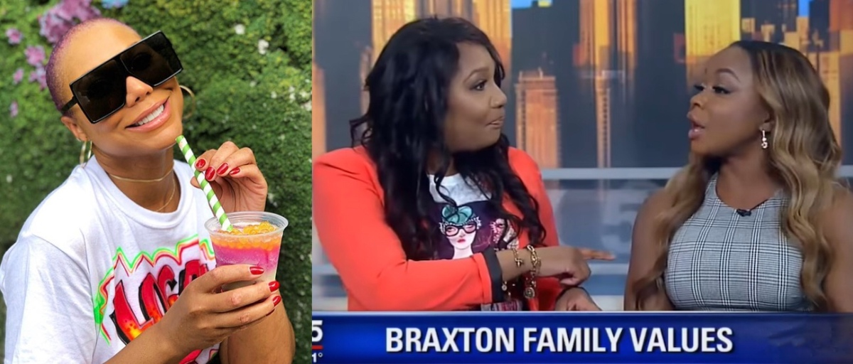 Tamar Braxton Throws Shade at Phaedra Parks for Filming 'Braxton Family Values' with Traci: [Video]
