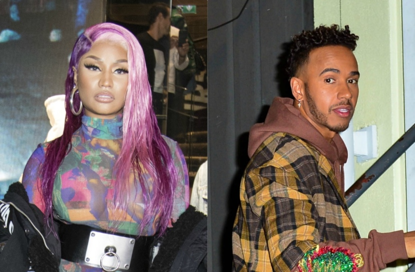 4a7f254a176e Suspicion from fans about Nicki Minaj dating Formula One racer Lewis  Hamilton has (almost) been turned into full-blown FACTS. Although the Queen  Barb hasn t ...