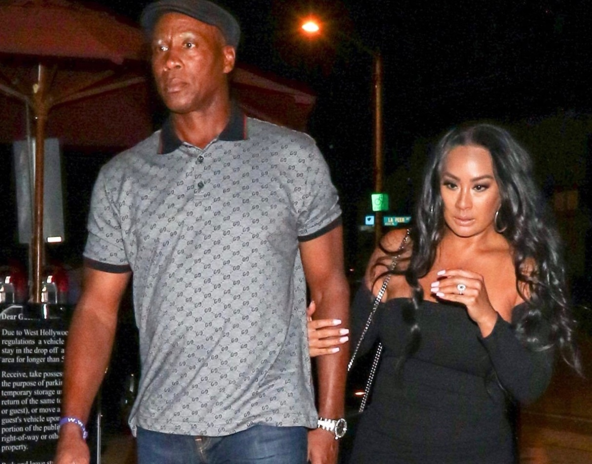 """Basketball Wives"" Star CeCe Gutierrez And Byron Scott Get Engaged!"
