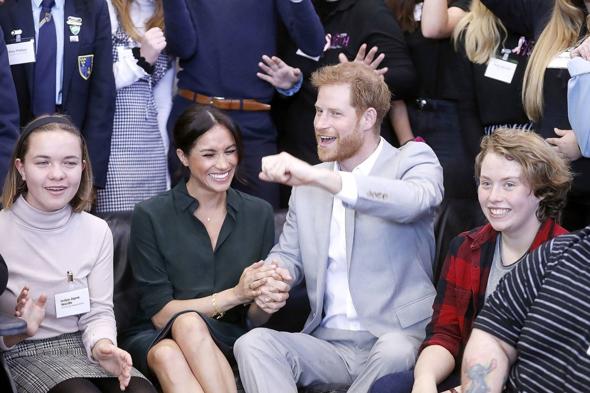 Meghan Markle and Prince Harry Prove the Honeymoon Isn't Over Yet with Major PDA on Royal Outing