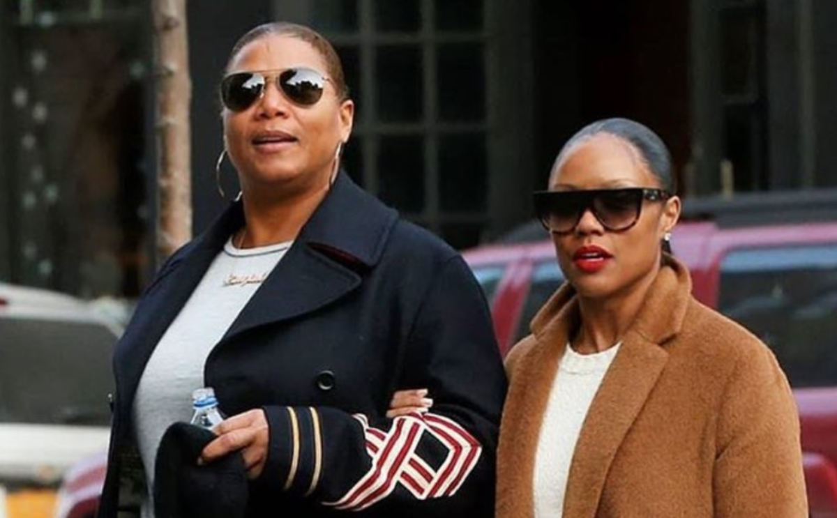 Queen Latifah Is Reportedly Expecting a Child With Pregnant Fiancée Eboni Nichols
