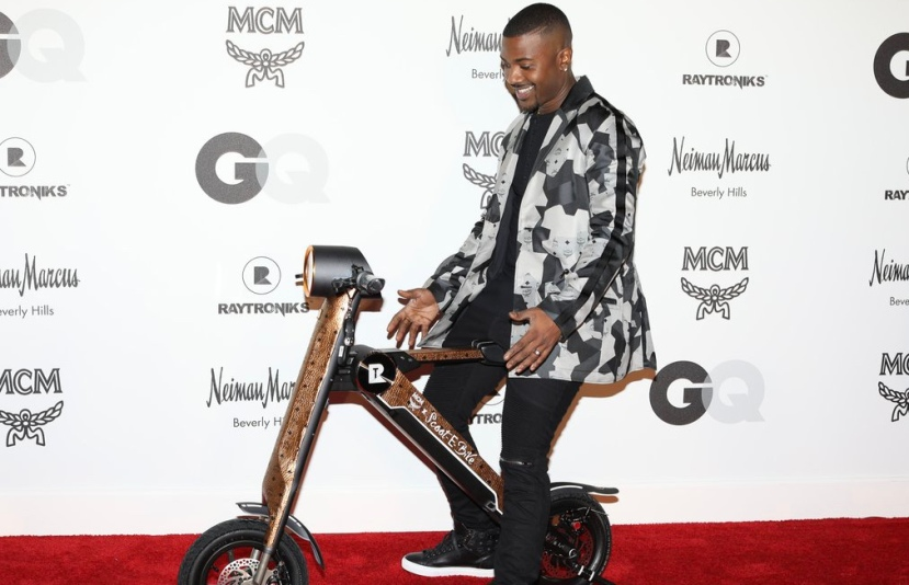 Image result for ray j scootebike