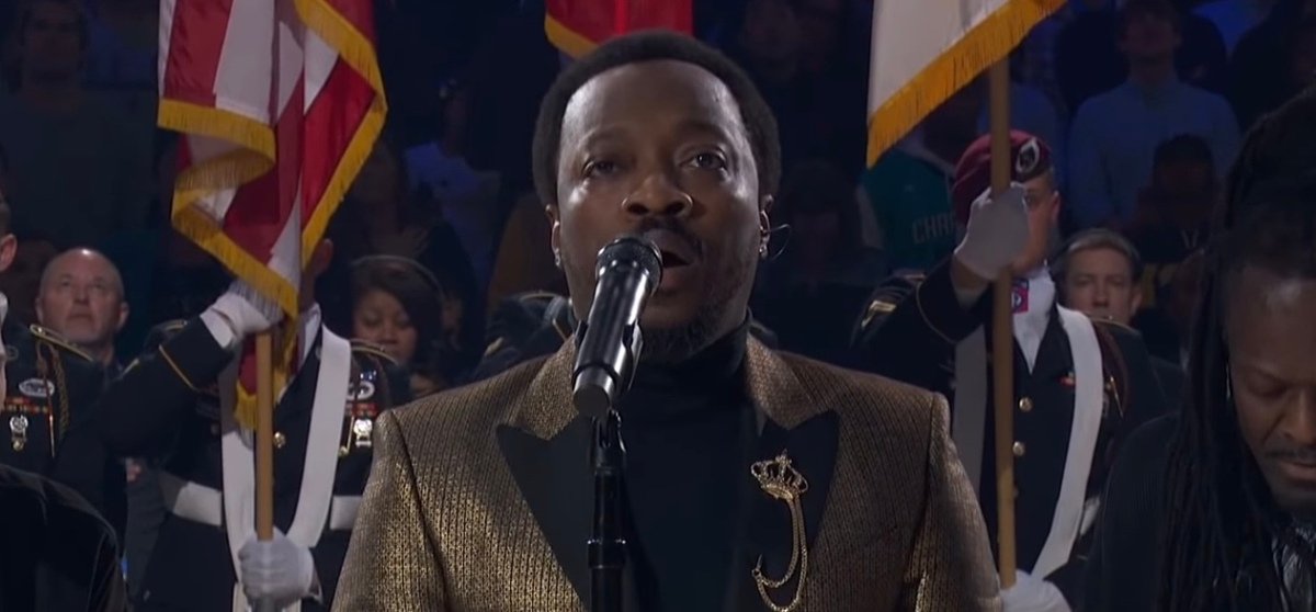 WATCH: Anthony Hamilton Goes Viral With All-Star National Anthem