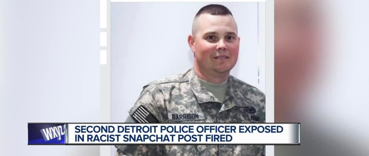 Second Detroit Cop Who Made Racist Remarks in Video About Black Woman Fired